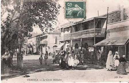 TEBESSA - Le Cercle Militaire
