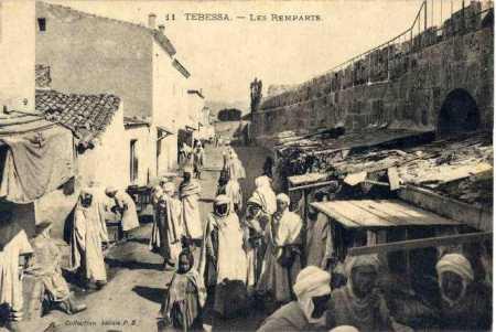TEBESSA - Les Remparts