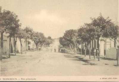 TEFESCHOUN - La  rue Principale