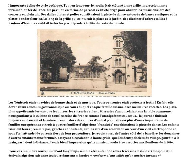 TENIET-EL-HAAD - L'Eglise