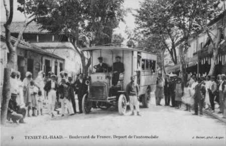 TENIET-EL-HAAD - Boulevard de France