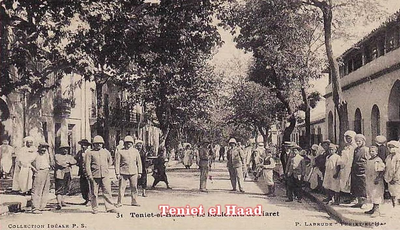 TENIET-EL-HAAD - Boulevard de Tiaret
