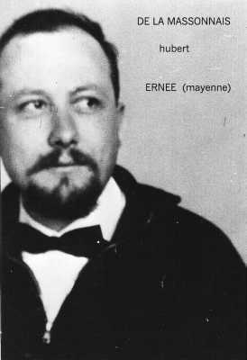 Hubert De La MASSONNAIS Natif d'ERNEE