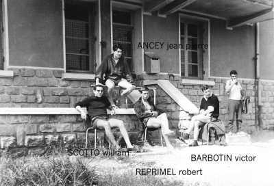 William SCOTTO Jean-Pierre ANCEY Sergent Robert REPRIMEL Sergent Victor BARBOTIN X (un oranais)