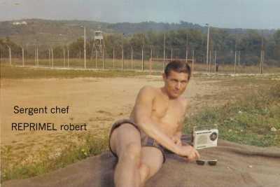 Sergent Chef Robert REPRIMEL