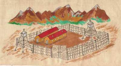 Peinture du Camp de THOL