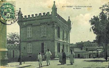 TIARET - La Commune Mixte