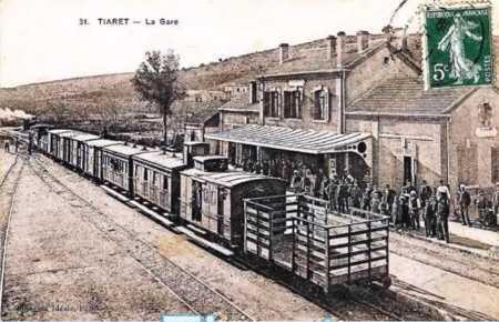 TIARET - La Gare