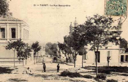 TIARET - Rue BEAUPRETRE
