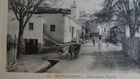 MOSTAGANEM - Rue Tigditt