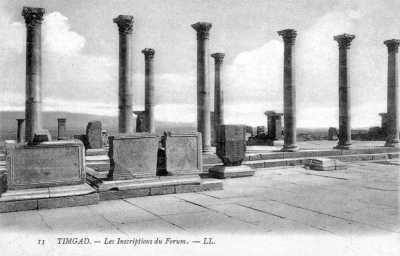 TIMGAD - Le Forum