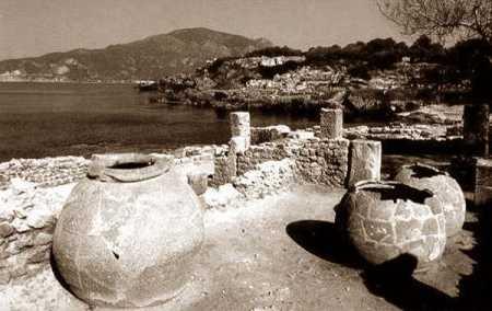 TIPAZA les ruines Romaines