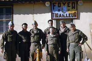 Tirailleurs terminant leur Service Militaire