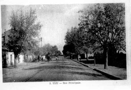 TIZI - La rue Principale