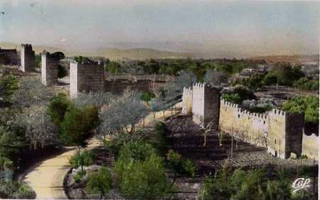 TLEMCEN - Les Anciens Remparts