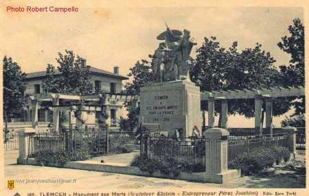 Monument  aux morts de TLEMCEN