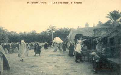 TOUGGOURT - Boucheries Arabes