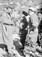 Le commandant Jean POUGET en djellaba