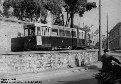 ALGER - 1959 - Le Tramway