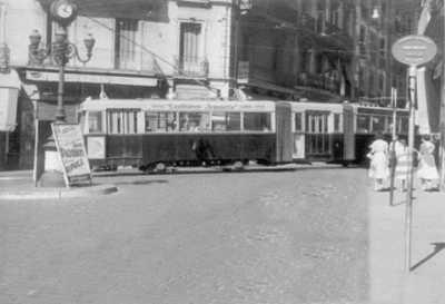ALGER  Le Tramway aux 3 HORLOGES