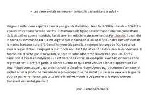 Capitaine Jean PAOLI