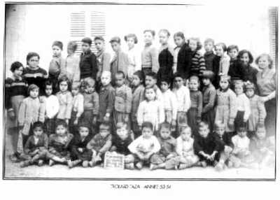 TROLARD-TAZA  L'Ecole 1953 - 1954