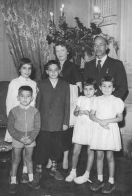 le Docteur SID CARA en  famille
