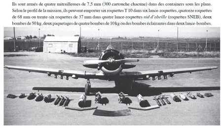 L'armement d'un T6