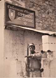 Quartier du commando