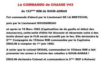 Le Commando de Chasse V43