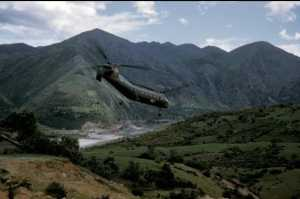 BANANE survolant la kabylie