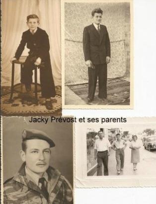 VIALAR - Jacky PREVOST et ses Parents