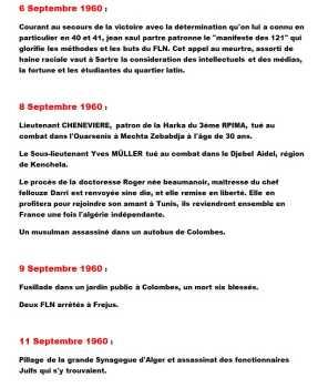 6 au 11 Septembre 1960