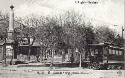 La Colonne VOIROL en 1900