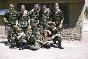 Sous officiers Cdo V 66  contingents 58 1/A et 58 1/B  Collection R. SANTARELLI