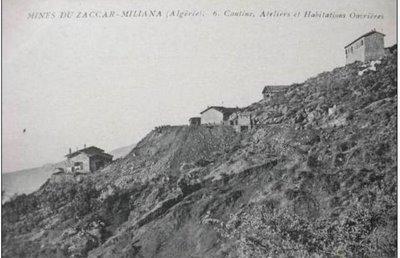 Habitations des Mines sur le ZACCAR