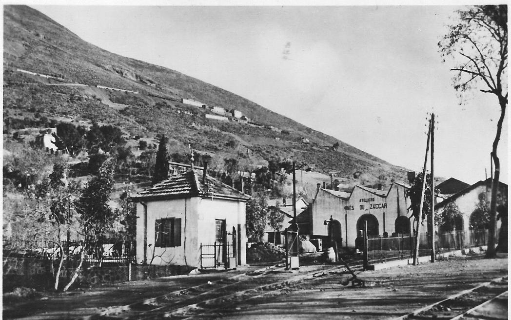 MILIANA - Mines du ZACCAR - Les Ateliers