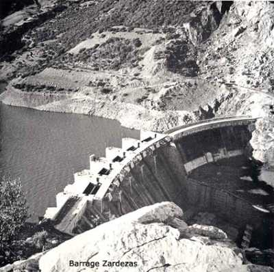 EL ARROUCH  Barrage de ZARDEZAS Mise en eau en 1930