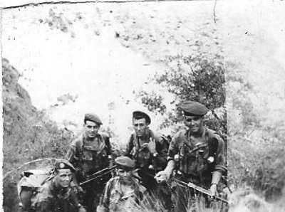 La bataille de GUELMA - 1958 le sergent Michel ABAD et son groupe de combat