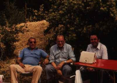 Adrien TUESTA et ses cousins Albert FERNANDEZ Ernest FERNANDEZ