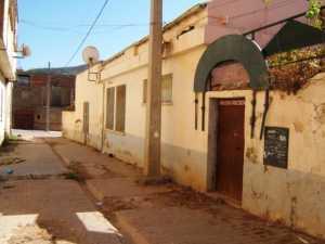 Rue Saint-Vincent de Paul ---- L'Ecole des SOEURS Maisons des familles BOUMEZOUED et BENHAMMOU (Hammou Maroc)