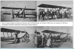 CHARRON - 1930 Un CAUDRON C 59 en panne