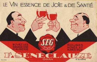 Le Vin SEG F. SENECLAUZE