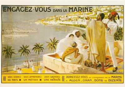 Affiche de la Marine
