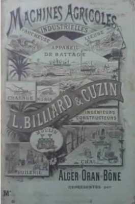 BILLIARD et CUZIN