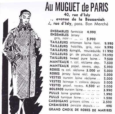 """Au muguet de Paris"""