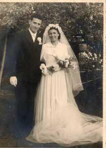 Mariage de Jean-Pierre ALBENTOSA avec Yvette ROSTOLL