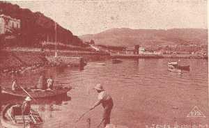 ANDRE Georges et Joseph CAMILLERI au petit port