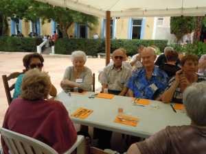 Lucette AUTHIE Liliane GASSIER Roger GASSIER Georges ANDRE Nelly ANDRE