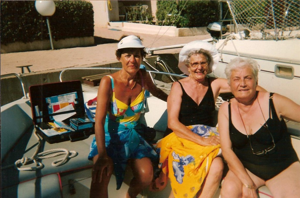 X Georgette LEY Louisette ANDRE
